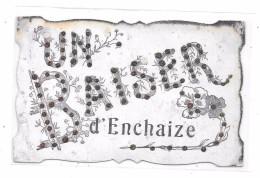 CPA à Localiser : Un Baiser D' ENCHAIZE - Cartes Postales