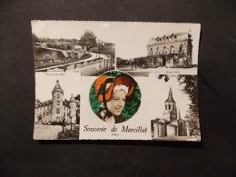 CPSM  Souvenir De Marcillat Allier Multivues - Andere Gemeenten