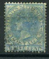 STAITS SETTLEMENTS ( POSTE ) : Y&T  N°  16  TIMBRE  BIEN  OBLITERE  , A  VOIR . - Straits Settlements