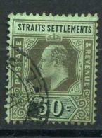 STAITS SETTLEMENTS ( POSTE ) : Y&T  N°  148  TIMBRE  BIEN  OBLITERE  , A  VOIR . - Straits Settlements