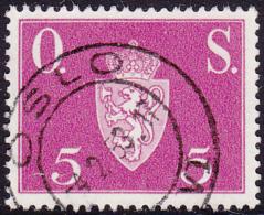 NORWAY - Mi # D61 Oslo 4.2.53 - Service