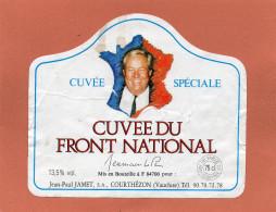 - Cuvée Spéciale F N - Jean-Paul JAMET,S A  COURTHEZON (Vaucluse)état Moyen Décollée Voir Scannes - Politica (vecchia E Nuova)