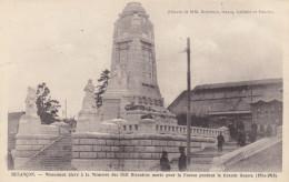25  Doubs  -  Besançon  ,  Monument  élevé  à  La  Mémoire  Des  1531  Bisontins  Morts  Pour  La  France - Besancon
