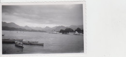 PHOTO ORIGINALE 11X7 / LAC DES 4 CANTONS 1955 - Places
