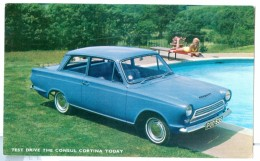 1962 GB  Ford Cortina Launch Pc Used With Dealer Cachet Burgess Hill, Sussex - Turismo