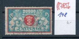 Danzig Nr. 148  O  (ff7856  )  Siehe Scan - Dantzig