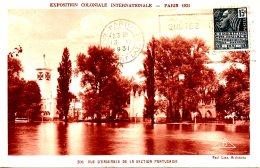 FRANCE. N°270 De 1931 Sur Carte. Exposition Coloniale Internationale De Paris. Pavillon Portugais. - Maximumkarten
