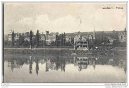 WAULSORT ..-- HASTIERE ..-- Villas . 1910 Vers BRUXELLES ( Melle Elisa GORISSEN ) . Voir Verso . - Hastière