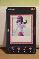 Carte Walibi The Battle Game - Wab Or Skunx ? - Carrefour - N° 2 Fibi - Trading Cards