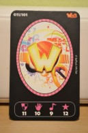 Carte Walibi The Battle Game - Wab Or Skunx ? - Carrefour - N° 11 - Trading Cards