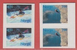 2001 ** (sans Charn., MNH, Postfrish)  Yv  1332/3Mi  1383/4NHK  1424/5 - Norvège