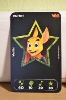 Carte Walibi The Battle Game - Wab Or Skunx ? - Carrefour - N° 13 Walibi - Trading Cards