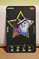 Carte Walibi The Battle Game - Wab Or Skunx ? - Carrefour - N° 16 Zenko - Trading Cards
