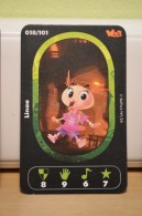 Carte Walibi The Battle Game - Wab Or Skunx ? - Carrefour - N° 18 Linaa - Trading Cards
