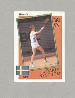 JOAKIM NYSTROM...TENNIS..COURT DE TENNIS...OLIMPIADI...OLYMPIC - Trading Cards