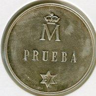 Espagne Spain 500 Pesetas 1987 Argent Prueba Essai KM TS1 / 831 - Spain