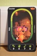 Carte Walibi The Battle Game - Wab Or Skunx ? - Carrefour - N° 21 Bob - Trading Cards