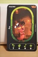 Carte Walibi The Battle Game - Wab Or Skunx ? - Carrefour - N° 22 Joe - Trading Cards