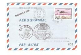 TP Concorde C.Aéroport Charles De Gaulle 4/4/1981 1ere Visite Du Concorde à Charleroi Gosselies+Douane  PR3124 - Poste Aérienne