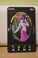 Carte Walibi The Battle Game - Wab Or Skunx ? - Carrefour - N° 25 Fibi - Trading Cards