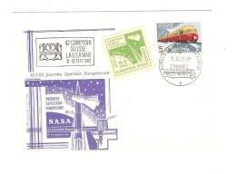 TP Train C.Bureau De Poste Automobile 18/9/1962 Journée Spatiale Européenne PR3126 - Briefe U. Dokumente