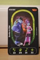 Carte Walibi The Battle Game - Wab Or Skunx ? - Carrefour - N° 31 Zenko Et Fibi - Trading Cards
