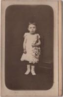 CDV Photo Originale XIX ème Album De Galtier De Laroque La Rochelle Enfant Poupée COGNACQ Cdv630 - Photographs