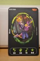 Carte Walibi The Battle Game - Wab Or Skunx ? - Carrefour - N° 37 Haaz - Trading Cards