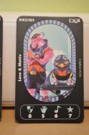 Carte Walibi The Battle Game - Wab Or Skunx ? - Carrefour - N° 43 Loco Et Motiv - Trading Cards