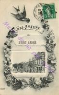 76. Mes Amitiés De SAINT SAENS . - France
