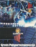 Lucifermapje - Samson Live.. Matchbox, Matches, 2 Scans - Luciferdozen