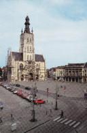 Grote Kaart Tienen Grote Markt OLV Ten Poel Kerk Stadhuis - Tienen