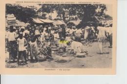 Un Marché - Dahomey