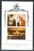 VATICAN CINDERELLA BLOCK 3v VISIT POPE JOHN PAUL II TO GERMANY 1980 * GOLDEN SERIES * MNH - Blocks & Sheetlets & Panes
