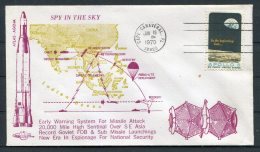 1970 USA Cape Canaveral Space Rocket Cover - Covers & Documents