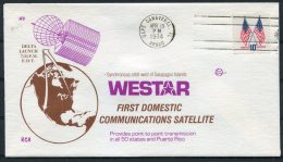 1974 USA Cape Canaveral Space Rocket Cover - WESTAR - Covers & Documents