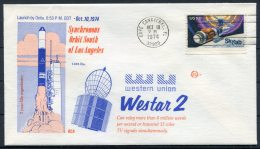 1974 USA Cape Canaveral Space Rocket Cover - WESTAR 2 - Covers & Documents