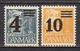1934 Michel No. 215-216 MNH - Ungebraucht