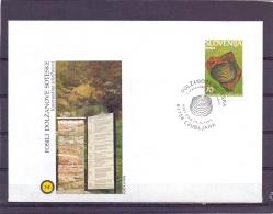 Slovenija - Fosili  Dolzanove Soteske - Ljubljan 29/3/1995 (RM10652) - Fossiles