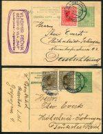 1920s Group Of 6 Covers/cards Ljubljana, Maribor, Zagreb, Seconovo, Sarajevo - 1919-1929 Kingdom Of Serbs, Croats And Slovenes
