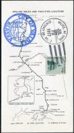 1977 USA City Of Valdez Alaska Oil Pipeline Postcard - Umweltschutz Und Klima