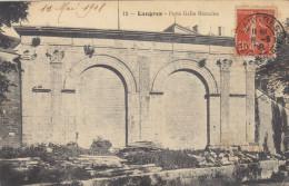 52  Haute  Marne  -  Langres  ,  Porte  Gallo  Romaine - Langres