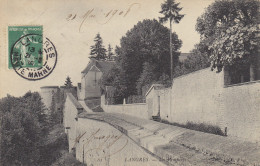 52  Haute  Marne  -  Langres  ,  Les  Remparts  Du  Chateau  Et  L  ATour  De  Coelquen - Langres