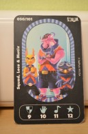 Carte Walibi The Battle Game - Wab Or Skunx ? - Carrefour - N° 50 Squad, Loco Et Motiv - Trading Cards