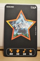 Carte Walibi The Battle Game - Wab Or Skunx ? - Carrefour - N° 54 - Trading Cards