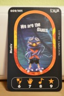 Carte Walibi The Battle Game - Wab Or Skunx ? - Carrefour - N° 59 Motiv - Trading Cards