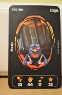 Carte Walibi The Battle Game - Wab Or Skunx ? - Carrefour - N° 63 Motiv - Trading Cards
