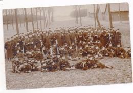 33240  -  Beverloo   école Régimentaire  5ème  Ligne -  Carte  Photo 1911 - Leopoldsburg (Camp De Beverloo)