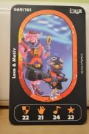 Carte Walibi The Battle Game - Wab Or Skunx ? - Carrefour - N° 69 Loco Et Motiv - Trading Cards