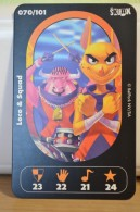 Carte Walibi The Battle Game - Wab Or Skunx ? - Carrefour - N° 70 Loco Et Squad - Trading Cards